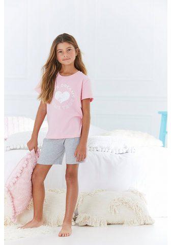 Buffalo Pižama su Herz Print vorn
