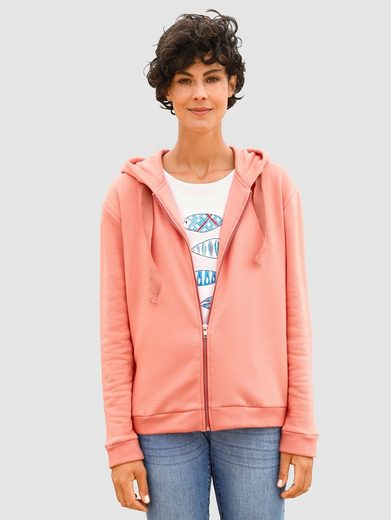 Dress In Sweatjacke in toller Farbgebung