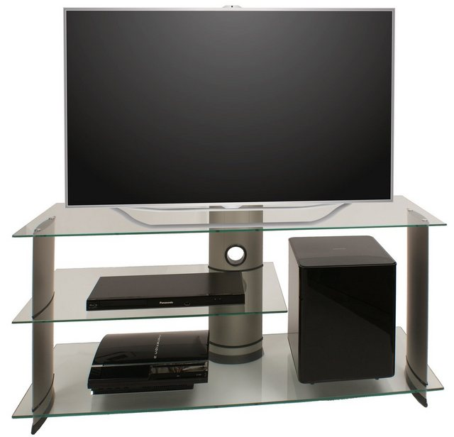 TV Möbel - VCM TV Rack »TV Möbel Subuso Silber «  - Onlineshop OTTO