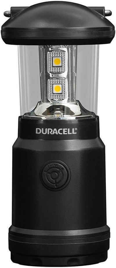 Duracell LED Laterne, Duracell LED Camping Laterne inkl. Batterien 90lm Taschenlampe Lampe Outdoor