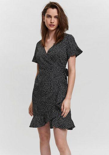 Vero Moda Wickelkleid »VMHENNA 2/4 WRAP FRILL DRESS«