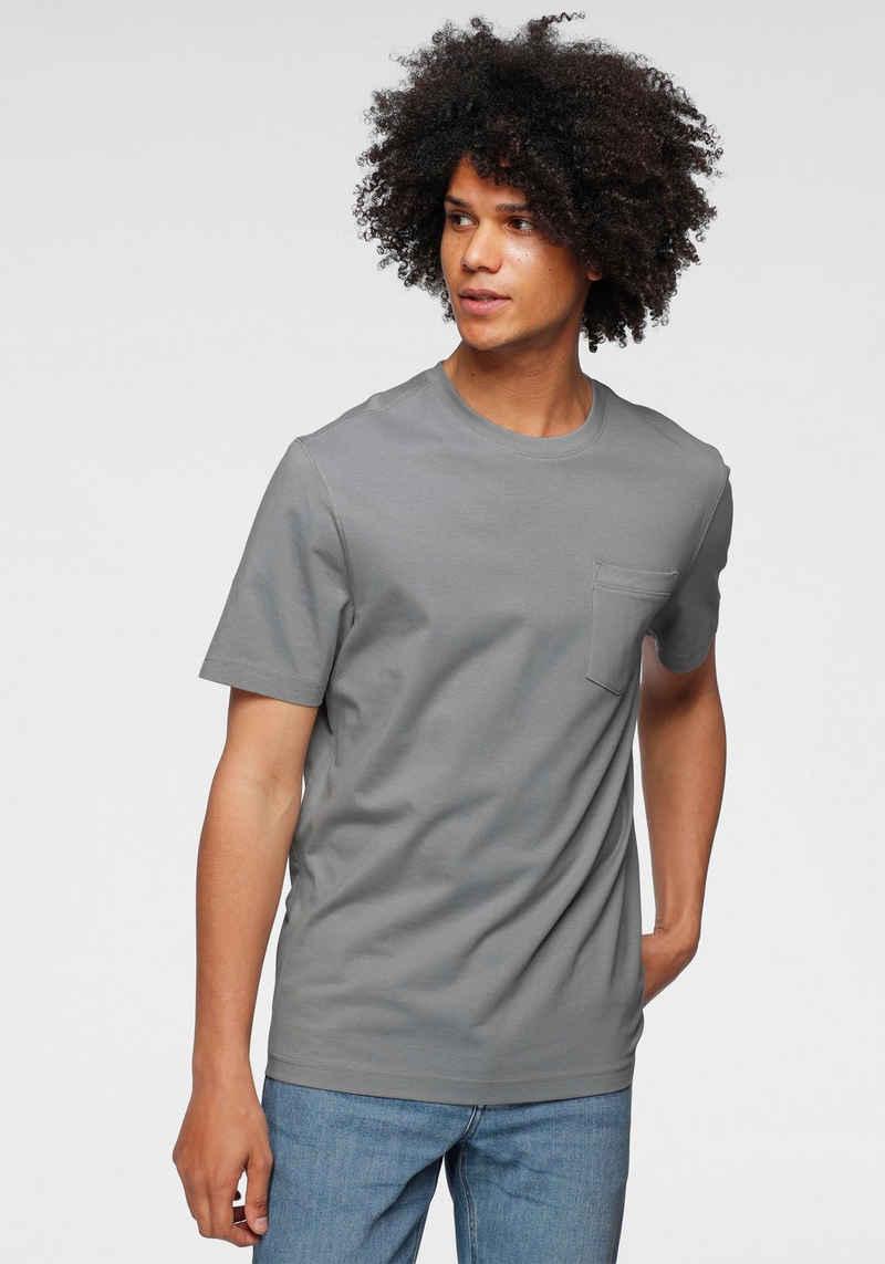 OTTO products T-Shirt »GOTS zertifiziert – nachhaltig aus Bio-Baumwolle« mit Brusttasche