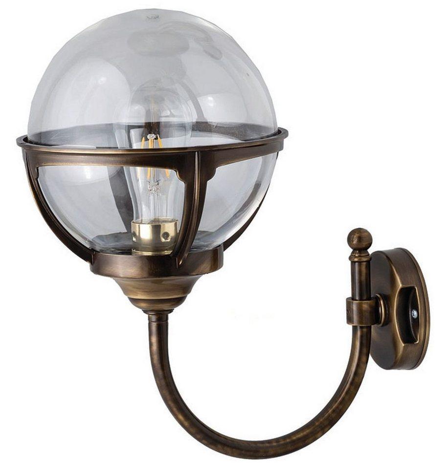 Licht Erlebnisse Außen Wandleuchte »ALONNISOS«, Außenlampe Messing IP20  Garten Terrasse Haus online kaufen   OTTO