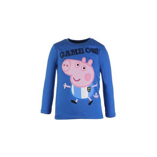 Shirt Peppa Pig Langarmshirts für Jungen