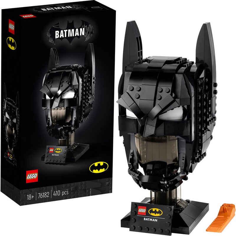 LEGO® Konstruktionsspielsteine »Batman™ Helm (76182), LEGO® DC Comics Super Heroes«, (410 St), Made in Europe