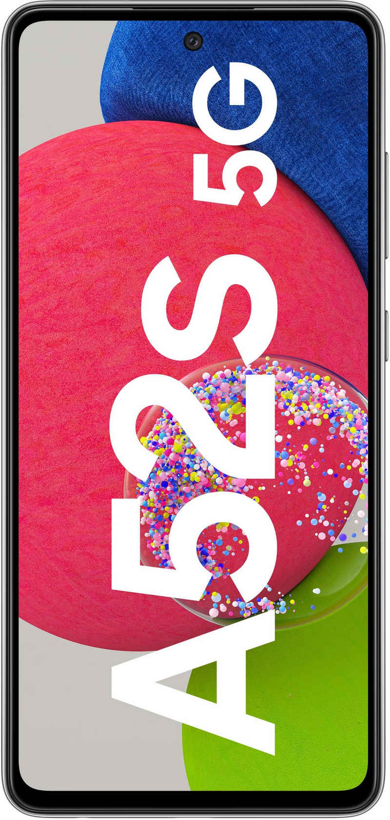 Samsung Galaxy A52S Smartphone (16,4 cm/6,5 Zoll, 128 GB Speicherplatz, 64 MP Kamera)
