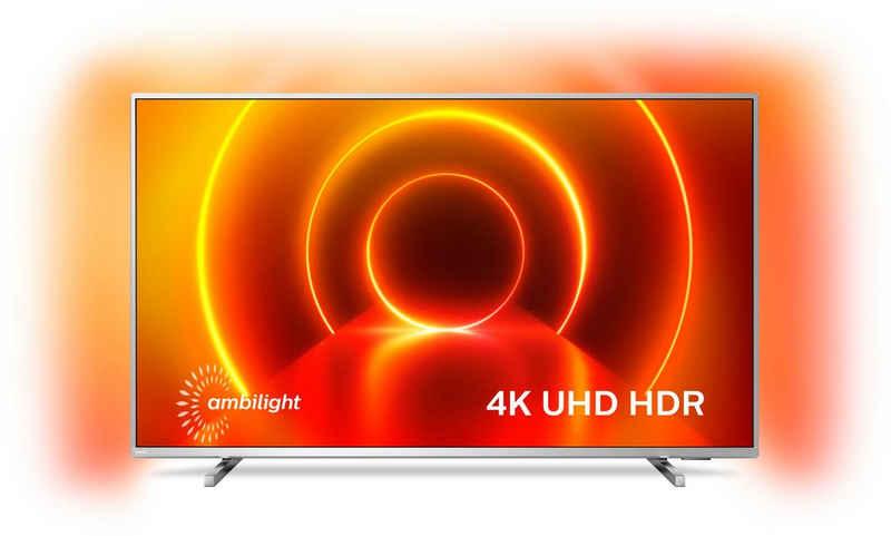 Philips 58PUS8105/12 LED-Fernseher (146 cm/58 Zoll, 4K Ultra HD, Smart-TV, 3-seitiges Ambilght)