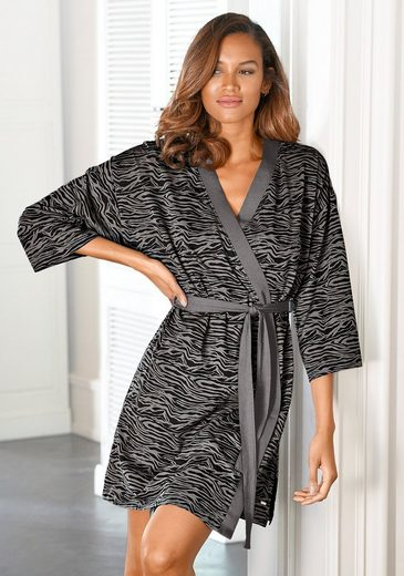Kimono, s.Oliver, aus weich fließendem Baumwollmix