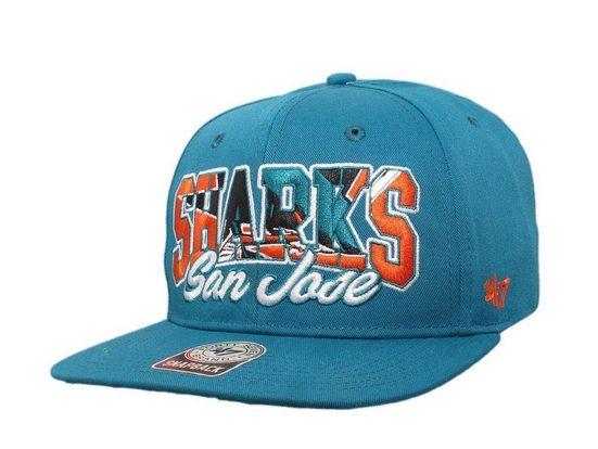 "'47 Brand Baseball Cap »47 Brand - NHL Cap Basecap Kappe Mütze Eishockey ""San Jose Sharks"" (Nr. 123)«"
