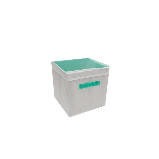 HTI-Line Aufbewahrungsbox »Aufbewahrungsbox mit Deckel Paloma« (1 Stück), Stoffbox