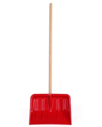 ONDIS24 Schaufel »Fun Kinderschneeschaufel Schneeschippe rot«