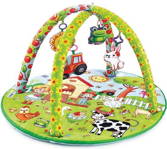Babyjem Spielbogen »Aktiv Bauernhof«, mit Krabbeldecke