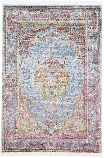 Teppich »Esha«, carpetfine, rechteckig, Höhe 8 mm, Vintage Look, Wohnzimmer