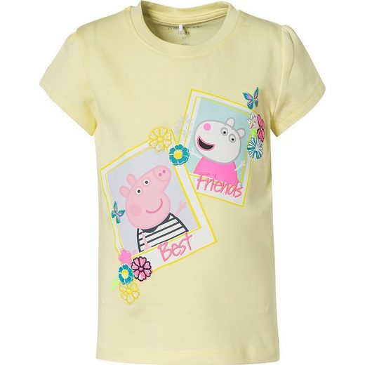 Name It T-Shirt »Peppa Pig T-Shirt NMFPEPPAPIG für Mädchen«