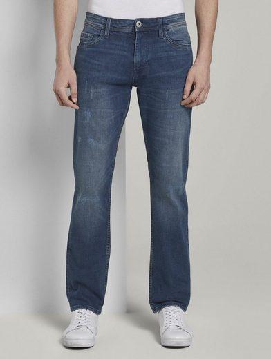 TOM TAILOR Slim-fit-Jeans »Josh Slim Tech Denim«