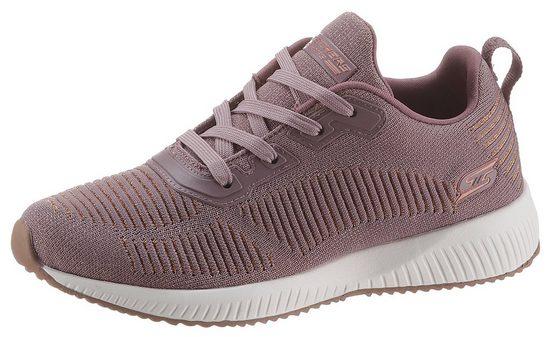 Skechers »BOBS SQUAD - GLAM LEAGUE« Sneaker mit feinem Metallic-Schimmer