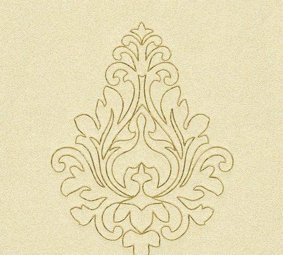 Architects Paper Vliestapete »Nobile«, Barock, bestickt, mit Ornamenten