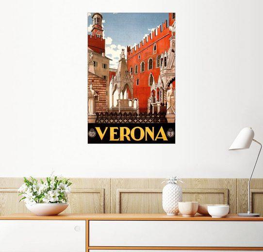 Posterlounge Wandbild, Italien - Verona