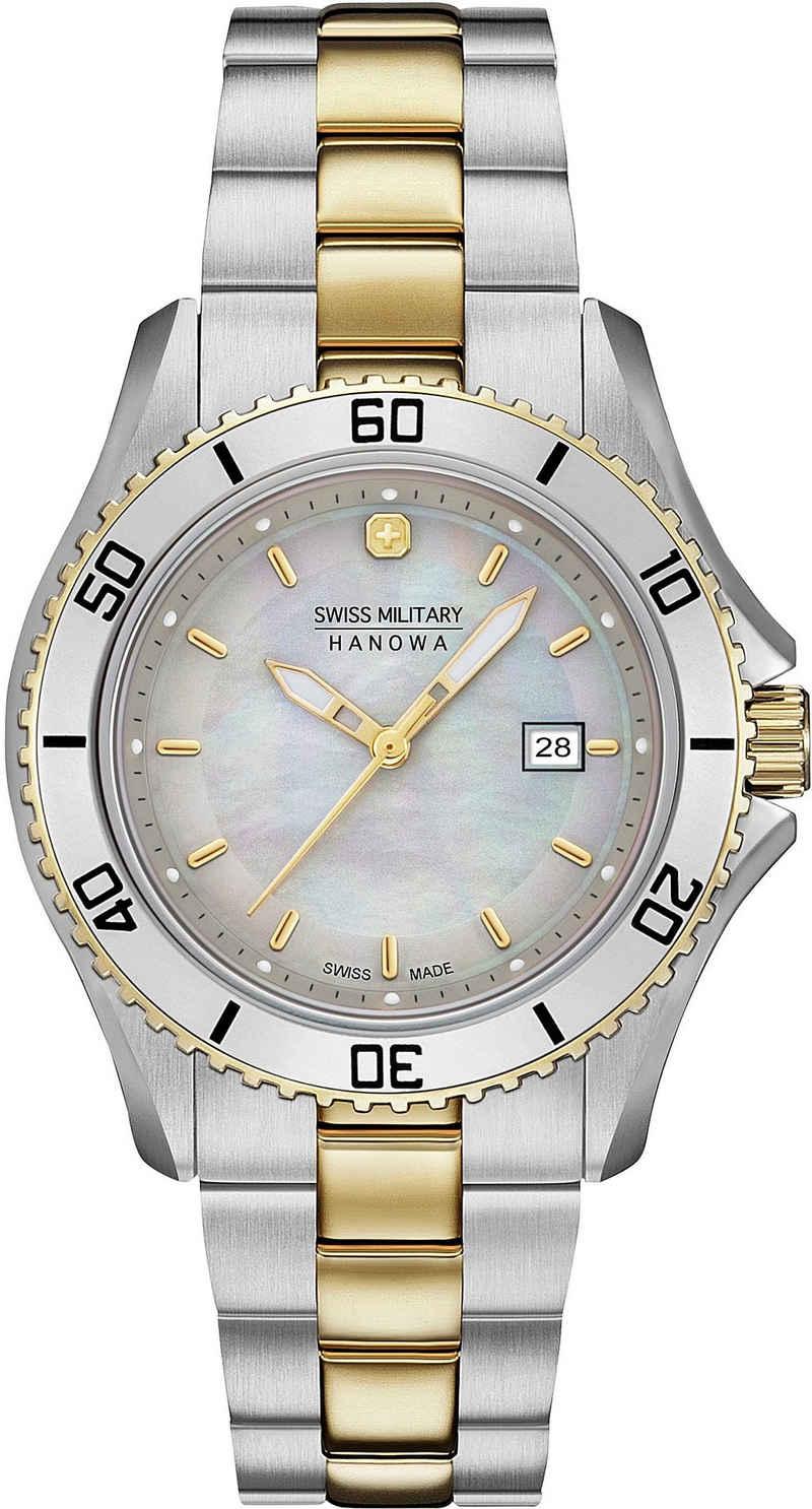 Swiss Military Hanowa Schweizer Uhr »NAUTILA PEARL, 06-7296.7.55.009«