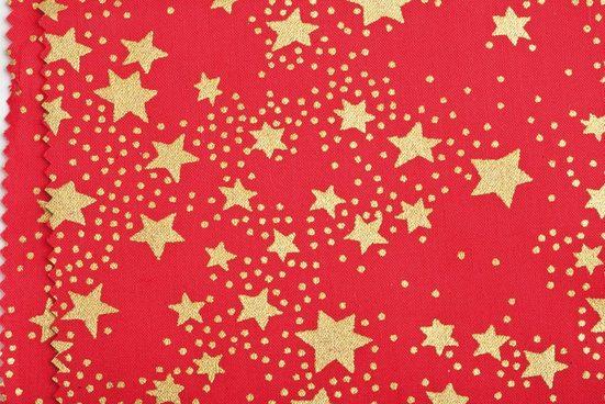 VBS Stoff »Sterne«, 145 cm breit, Meterware