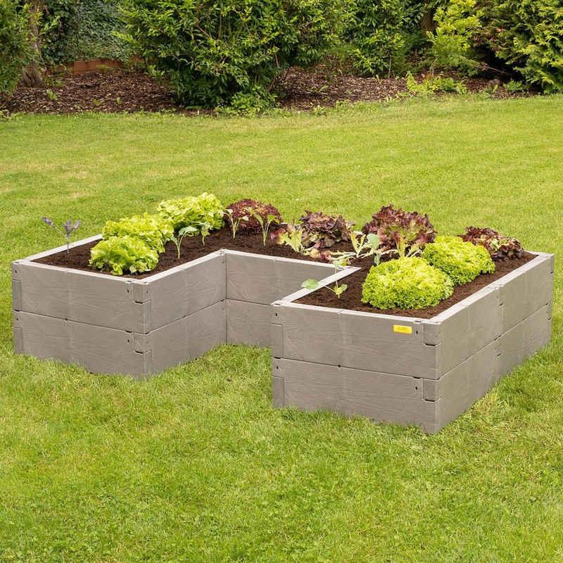 Juwel Hochbeet »Timber ErgoLine«, BxTxH: 185x125x40 cm