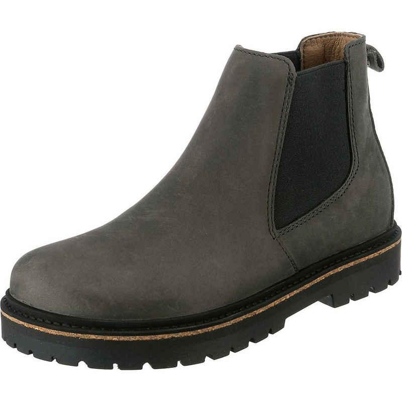 Birkenstock »Madrid Fettleder Nubuk Chelsea Boots schmal« Chelseaboots