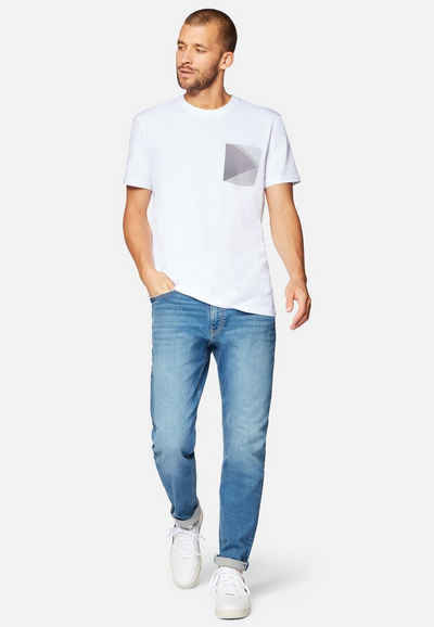 Mavi Rundhalsshirt »POCKET PRINTED TEE« Print Shirt