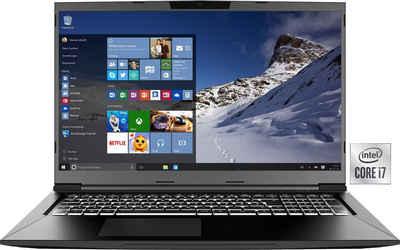 XMG XMG CORE 17 - E21ryy Notebook (43,94 cm/17,3 Zoll, Intel Core i7, GeForce RTX™ 3060, 500 GB SSD)