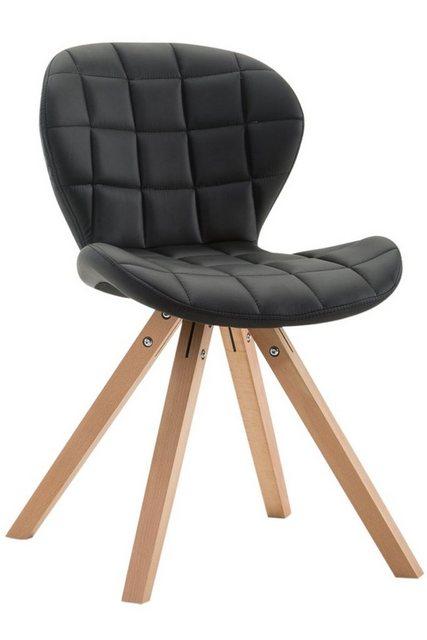 Stühle und Bänke - CLP Esszimmerstuhl »Alyssa Kunstleder Square« eckiges Vierfußgestell  - Onlineshop OTTO
