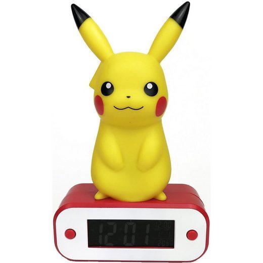 BigBen Radiowecker »Digitaler Wecker Pikachu, mit LED-Lampe«