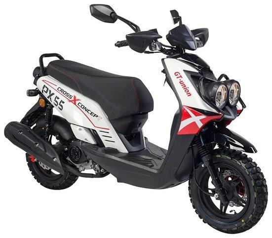 GT UNION Motorroller »PX 55 Cross-Concept«, 50 ccm, 45 km/h, Euro 5