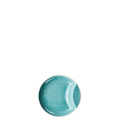 Rosenthal Snackschale »Mesh Colours Aqua Schale 12 cm flach«, Porzellan, (1-tlg)