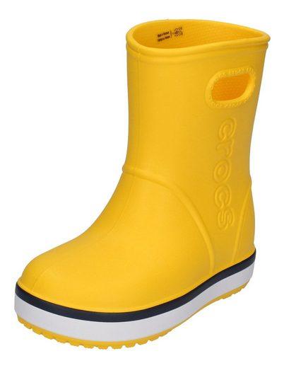 Crocs »Crocband Rain Boot« Gummistiefel yellow navy