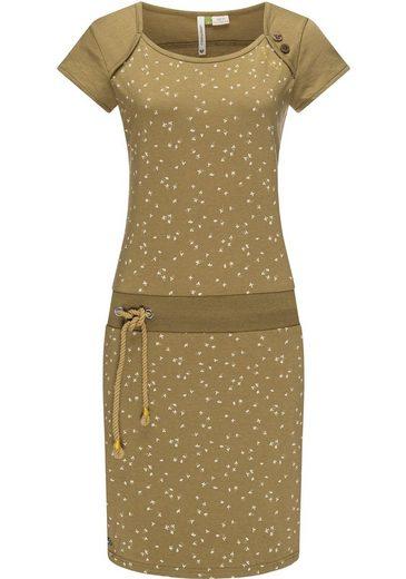 Ragwear Sommerkleid »Mike Dress Organic« leichtes Freizeitkleid mit Kordelzug