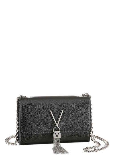 VALENTINO BAGS Clutch »Divina«, mit silberfarbenen Details