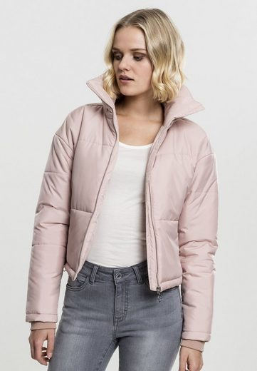 URBAN CLASSICS Allwetterjacke »Ladies Oversized High Neck Jacket«