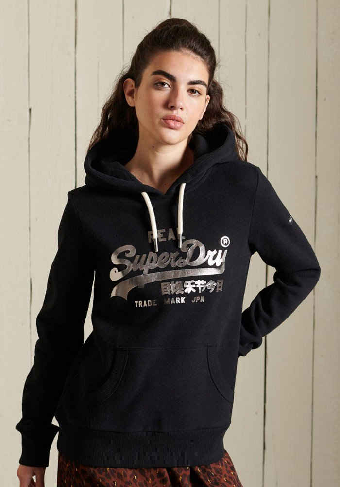Superdry Kapuzensweatshirt »BOHO SPARKLE« mit besondere Logo-Designs