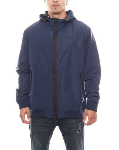 Rhode Island Blouson »Rhode Island Übergangs-Jacke leichte Herren Freizeit-Jacke im Blouson-Stil Frühlings-Jacke Marine«