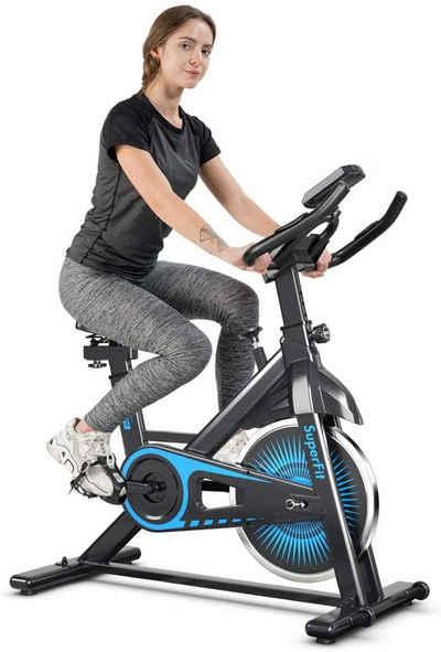 COSTWAY Fahrradtrainer »Indoor Cycling, Fitnessfahrrad«