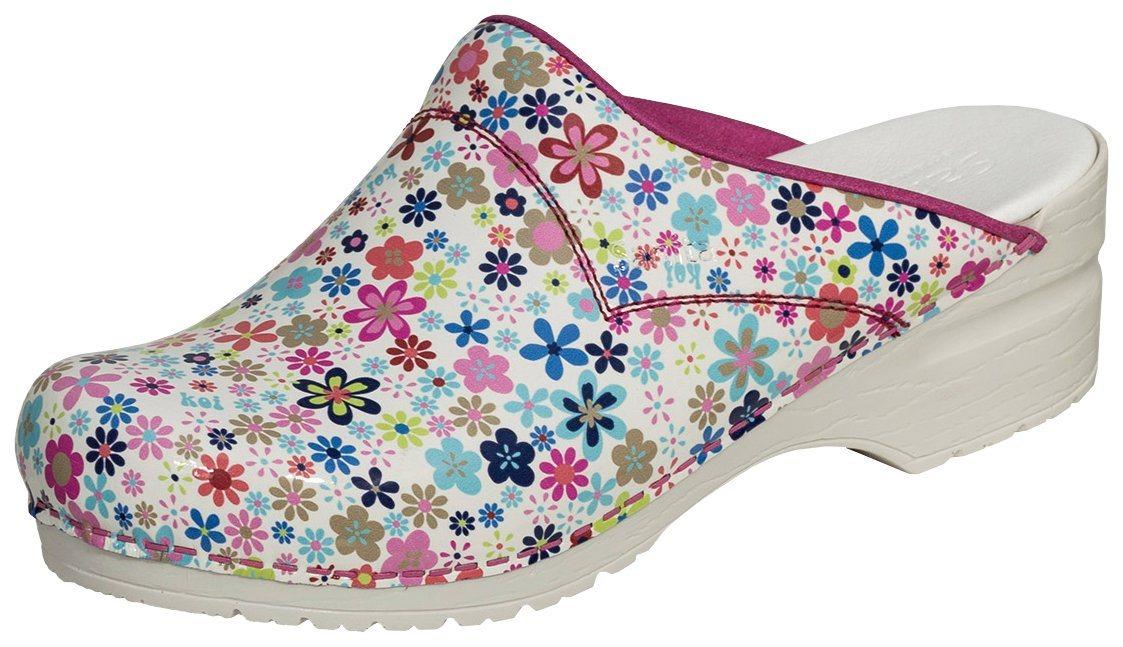 Clogs - »101140314 13« Clog Sanita Clog pink Flower SRC ›  - Onlineshop OTTO