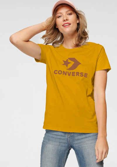 Converse T-Shirt »CONVERSE SCRIPTED STAR CHEVRON SHORT SLEEVE CREW T-SHIRT«