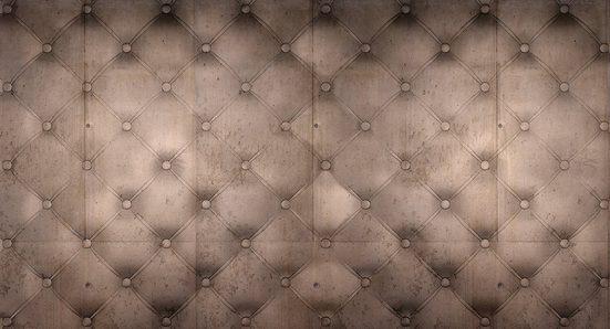 Architects Paper Fototapete »Atelier 47 Cushion Artwork 1«, glatt, Lederoptik, (5 St)