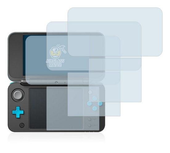 BROTECT Schutzfolie »Panzerglasfolie für New Nintendo 2DS XL«, (3 Stück), Schutzglas Glasfolie matt