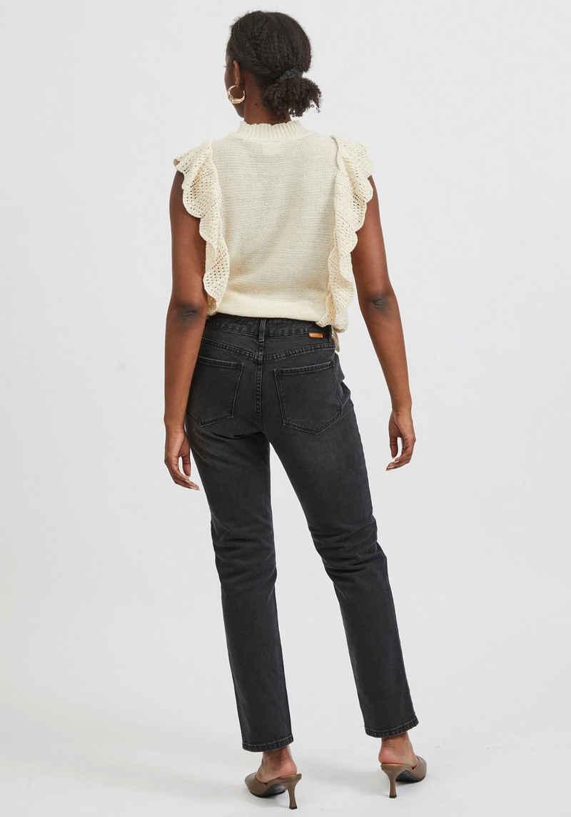 Vila Ankle-Jeans »VISTRAY BLACK«