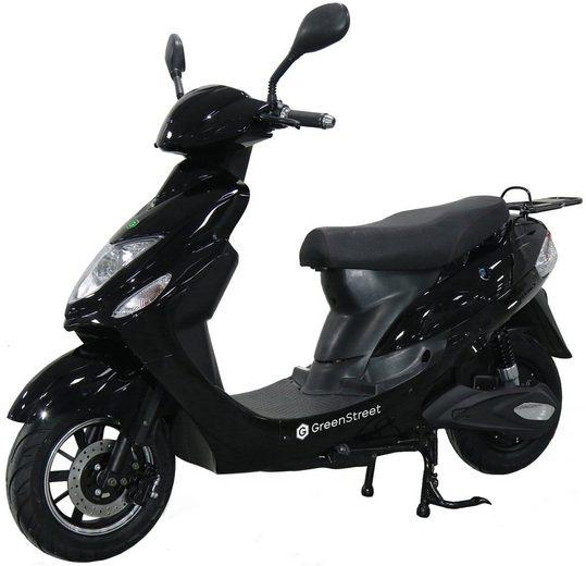 GreenStreet E-Motorroller »eCity«, 1500 W, 45 km/h
