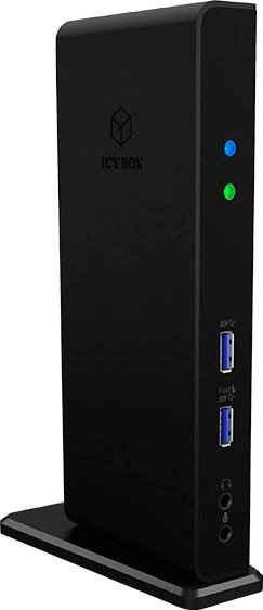 Raidsonic Laptop-Dockingstation »ICY BOX USB 3.0 Notebook DockingStation, DisplayLink, 2x HDMI bis zu 2K@60 Hz«