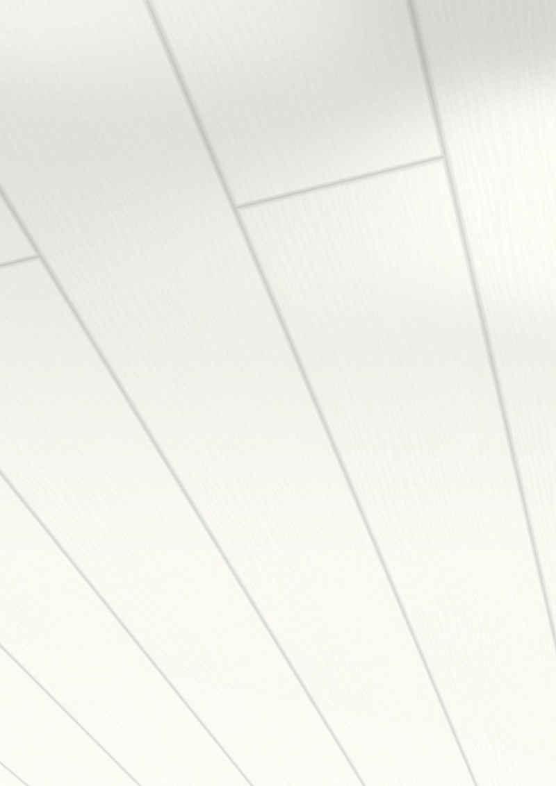 PARADOR Verkleidungspaneel »Home«, BxL: 14,9x125 cm, 1,12 qm, (Set, 6-tlg) Esche perlweiß