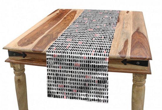 Abakuhaus Tischläufer »Esszimmer Küche Rechteckiger Dekorativer Tischläufer«, Abstrakt Einfacher Brushstroke Shapes