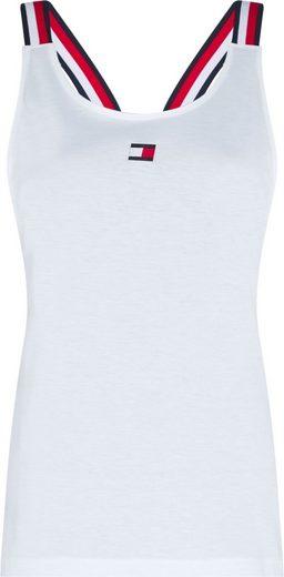 TOMMY SPORT Sporttop »STRAPPY TANK TOP« im Rücken mit gekreutzten Trägern & Tommy Sport Logo-Flag