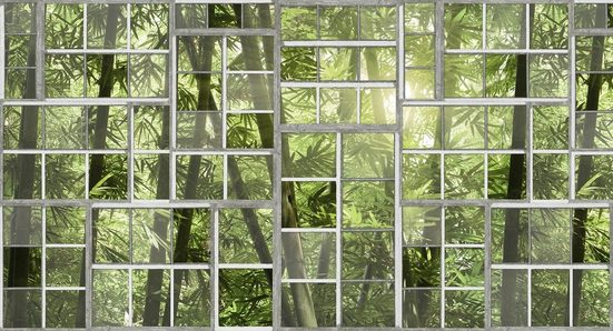 Architects Paper Fototapete »Atelier 47 Perspective 3«, glatt, botanisch, (5 St)